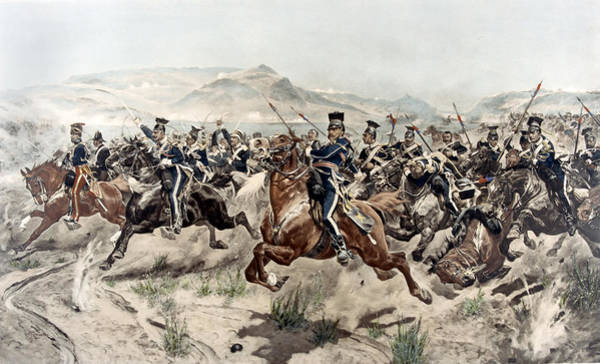 Wall Art - Painting - The Charge Of The Light Brigade, 1895 by Richard Caton Woodville