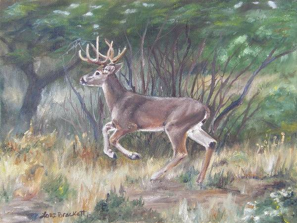 Painting - The Chase Is On by Lori Brackett