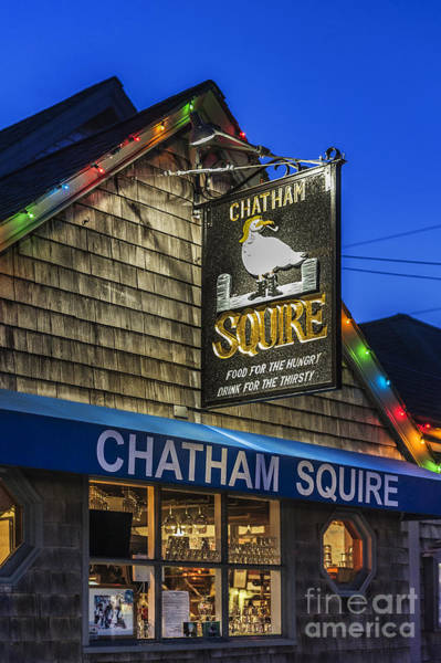 Chatham Photograph - The Chatham Squire by John Greim