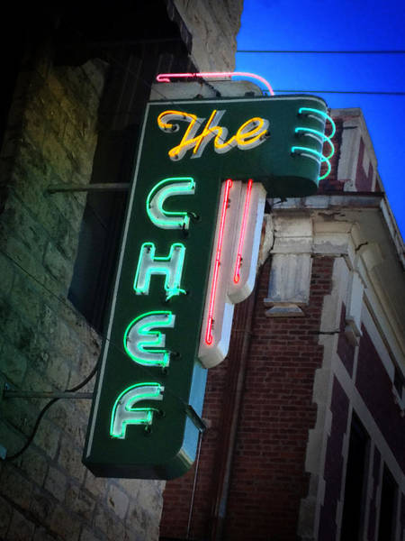 Photograph - The Chef by Rod Seel