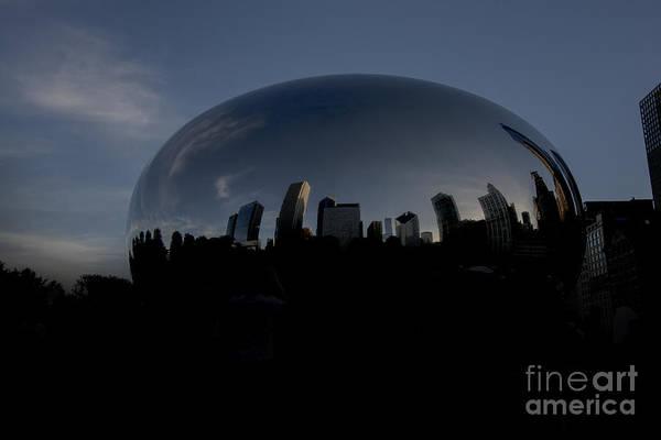 Photograph - The Chicago Bean In Millenium Park by David Haskett II