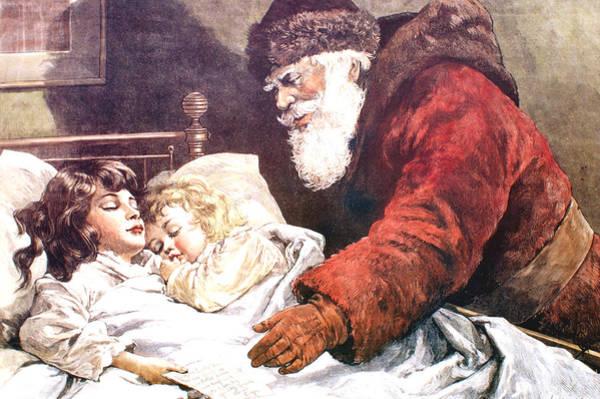 Digital Art - The Christmas Letter by Frank Leslie