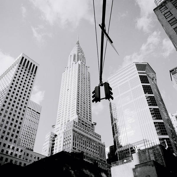 Photograph - The Chrysler Building In New York by Shaun Higson