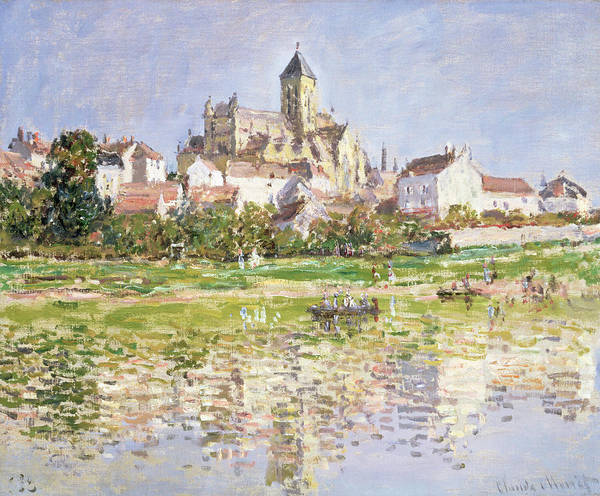 Wall Art - Painting - The Church At Vetheuil, 1880 by Claude Monet