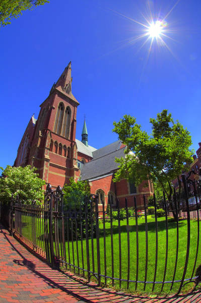 Photograph - The Church Of The Advent - Boston by Joann Vitali
