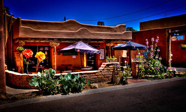 Photograph - The Church Street Cafe - Albuquerque New Mexico by David Patterson