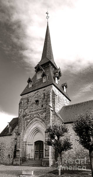 Wall Art - Photograph - The Church With The Dormers On The Steeple by Olivier Le Queinec