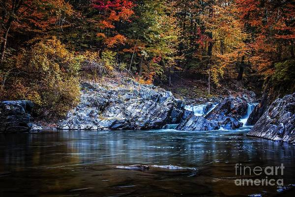 Photograph - The Chutes Thetford Vermont by Edward Fielding