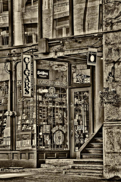 Wall Art - Photograph - The Cigar Store - Pioneer Square by David Patterson