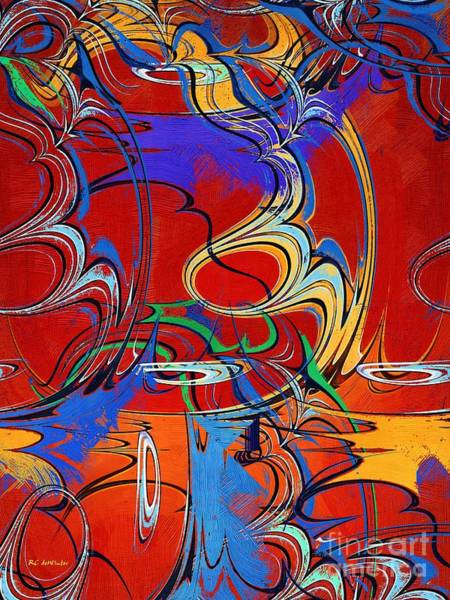 Painting - The Circus Of Ecstasy by RC DeWinter