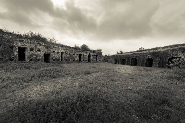Photograph - The Citadel At Fort Macomb by David Morefield