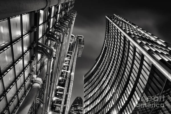 Wall Art - Photograph - The City by Rod McLean