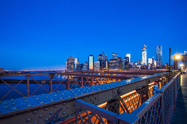 Financial District Photograph - The City That Never Sleeps by Daniel Chen