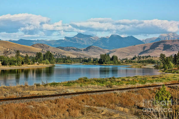 Wall Art - Photograph - The Clark Fork River by Scarlett Images Photography