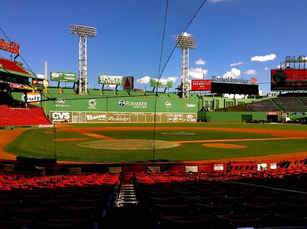Photograph - The Classic  Fenway Park by Iconic Images Art Gallery David Pucciarelli