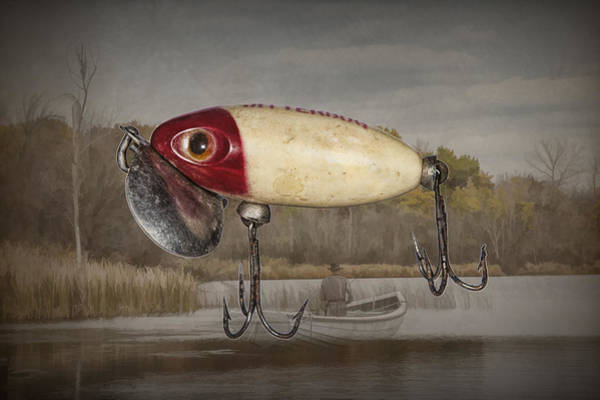 Angler Art Photograph - The Classic Jitterbug by Randall Nyhof