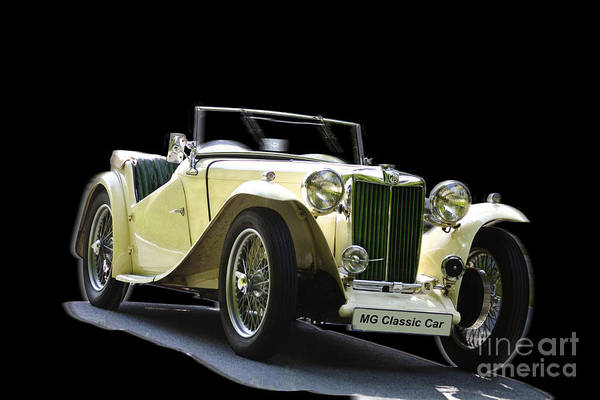 Photograph - The Classic Mg by Heiko Koehrer-Wagner