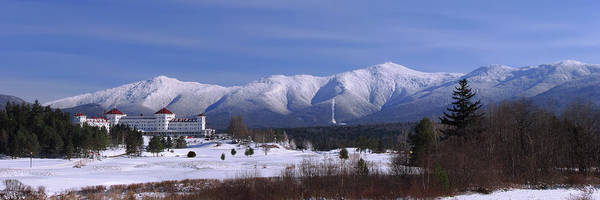 New Hampshire Photograph - The Classic Mount Washington Hotel Shot by Chris Whiton