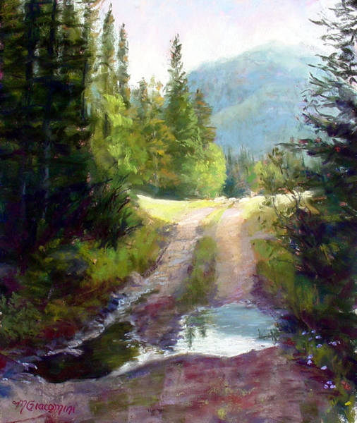 Painting - The Clearing by Mary Giacomini