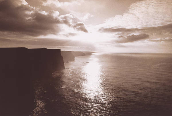 Moher Photograph - The Cliff Of Moher Ireland by Panoramic Images