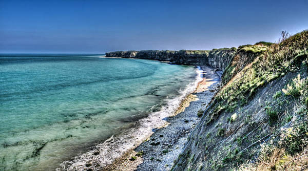 Battery D Photograph - The Cliffs Of Pointe Du Hoc by Weston Westmoreland