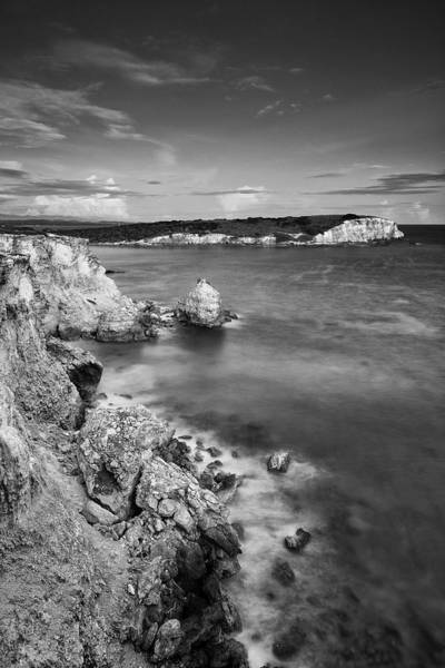 Photograph - The Cliffs Of Puerto Rico At Dusk by Photography  By Sai