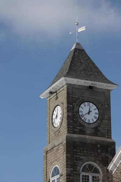 Wall Art - Photograph - The Clock Tower by Rhonda Humphreys