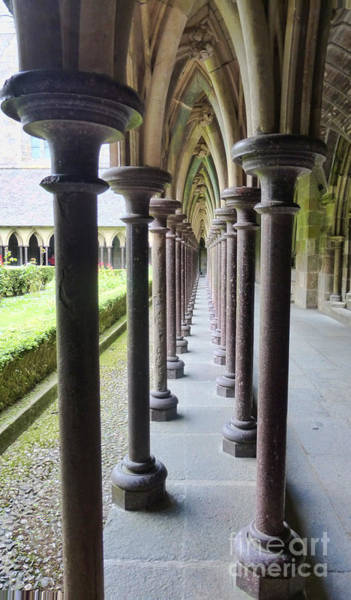 Photograph - The Cloisters At The Mont 2 by Crystal Nederman