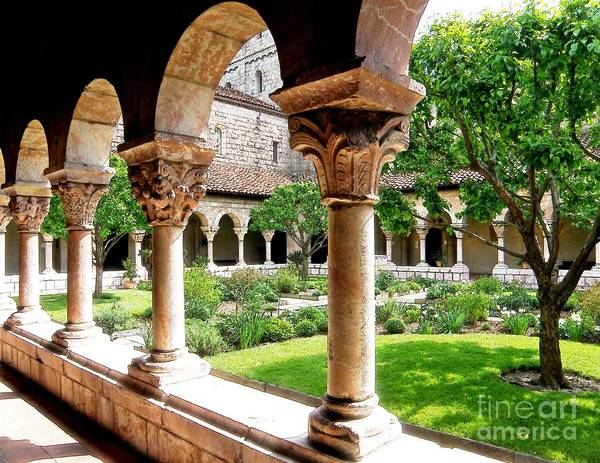 Cloister Photograph - The Cloisters by Sarah Loft