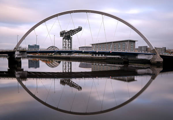 Photograph - The Clyde Arc by Grant Glendinning