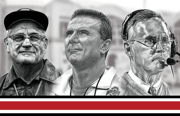 The Coaches Art Print