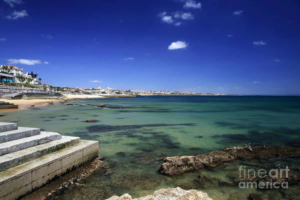 Photograph - The Coast Of Estoril by John Rizzuto