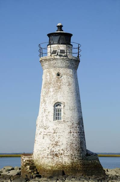 Photograph - The Cockspur Island Light  by Bradford Martin
