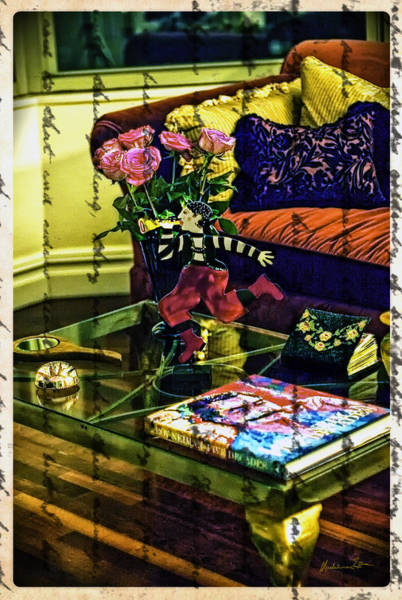 Neiman Photograph - The Coffee Table by Madeline Ellis