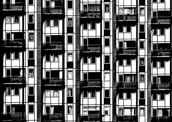 Facade Photograph - The Cold Outside by Susanne Stoop