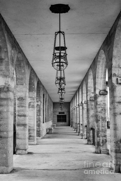 Lightner Museum Photograph - The Collanade At The Old Hotel Alcazar St. Augustine Florida by Dawna Moore Photography