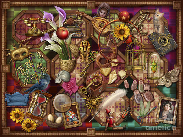 Wall Art - Digital Art - The Collection by MGL Meiklejohn Graphics Licensing