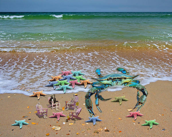 Sea Story Digital Art - The Collection Committee by Betsy Knapp