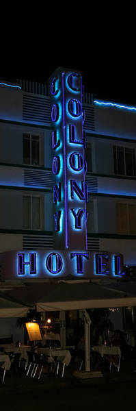 Photograph - The Colony Hotel by Ed Gleichman