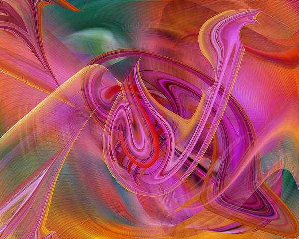 Digital Art - The Color Of Flight by rd Erickson