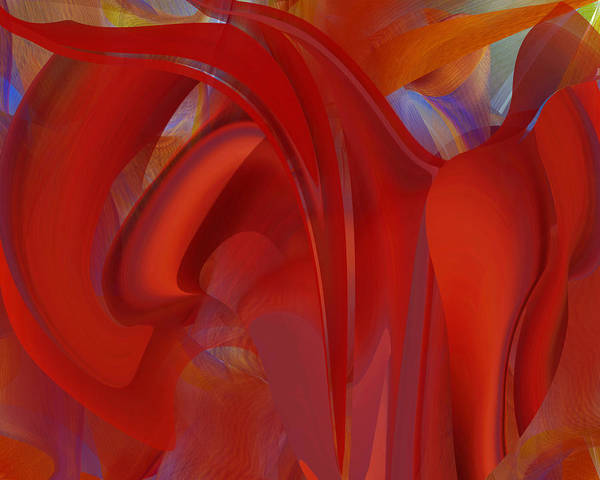 Digital Art - The Color Of Red by Roy Erickson