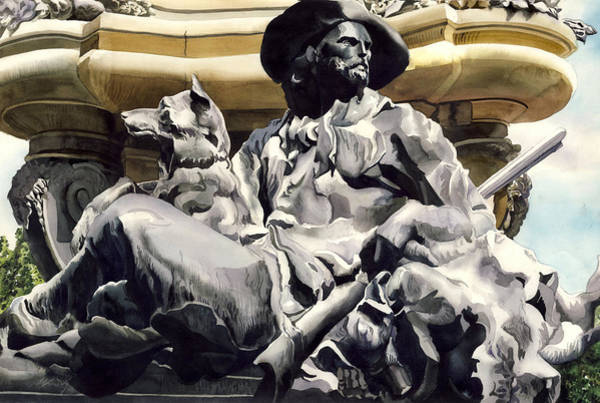 Painting - The Colorado Settler by Alfred Ng