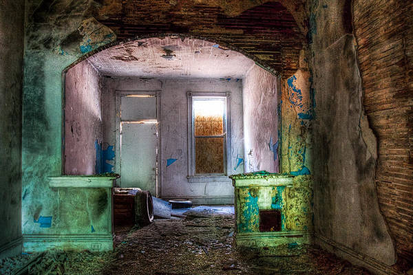 The Colors Of Decay Art Print