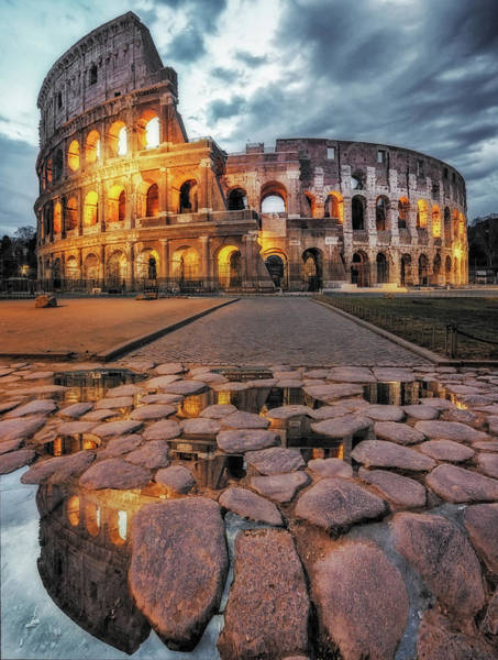 Wall Art - Photograph - The Colosseum by Massimo Cuomo