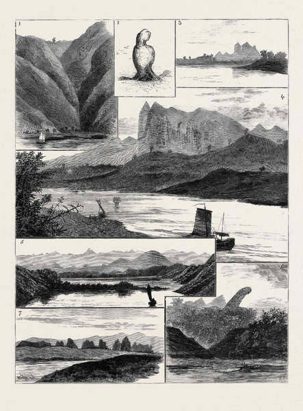 Wall Art - Drawing - The Colquhoun-wahab Expedition Through China by Chinese School