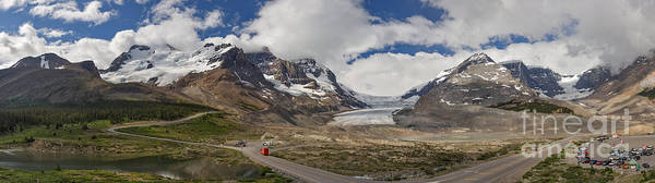 Photograph - The Columbia Icefield by Charles Kozierok