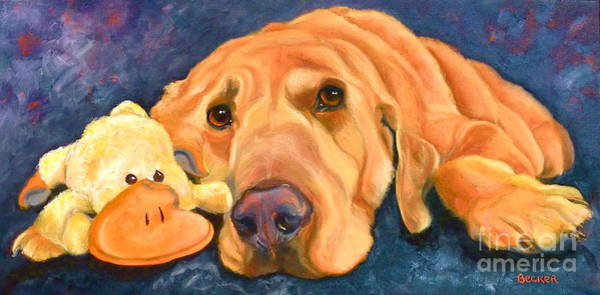 Painting - The Comfort Of Friends by Susan A Becker