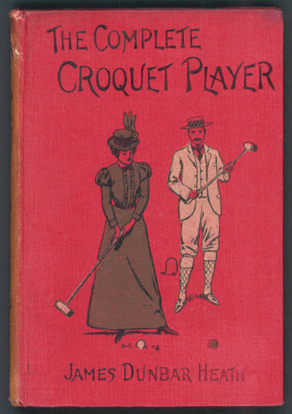 Dunbar Wall Art - Drawing - 'the Complete Croquet Player'  Manual by Mary Evans Picture Library