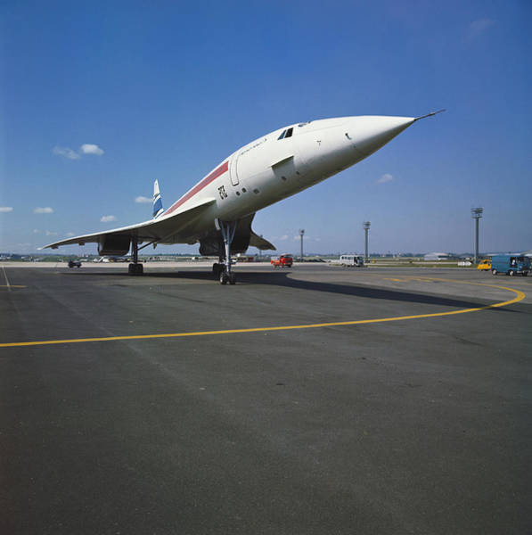 Photograph - The Concorde by L. Sir