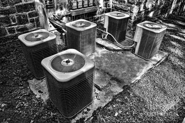 Compressor Photograph - The Condensers by Olivier Le Queinec